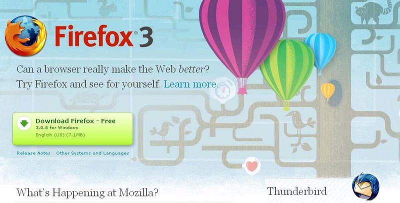 Mozilla Screen Shot